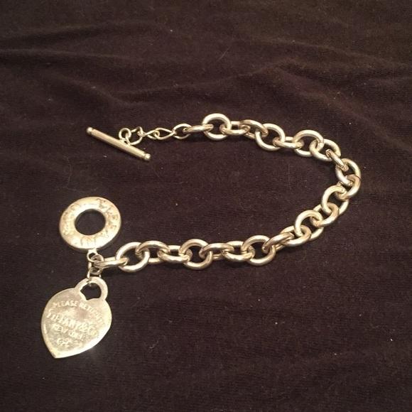 73b626ba32a00 Tiffany & Co. Jewelry   Gently Used Tiffany Co Bracelet   Poshmark